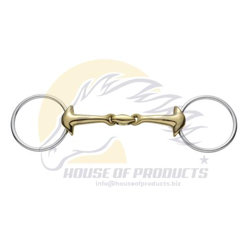 Loose Ring Snaffle Bit German silver mouth