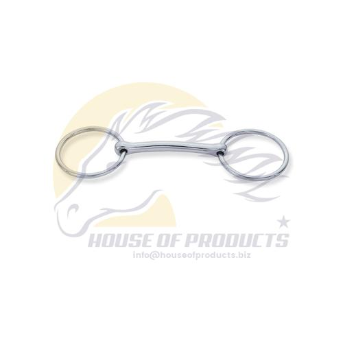 Mullen mouth loose ring snaffle bit