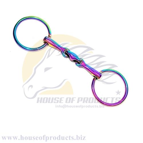 rainbow colors loose ring bits